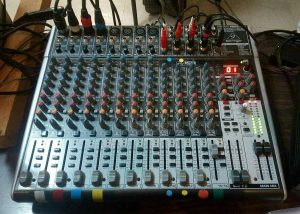 table de mixage web